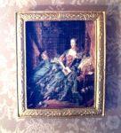 Portrait of Madame de Pompadour, a famous woman bibliophile