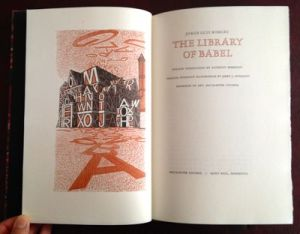 The Library of Babel, published by Macalester College, 1988