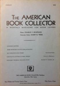The American Book Collector