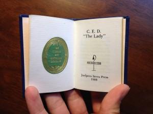 """C.E.D. """"The Lady"""""""